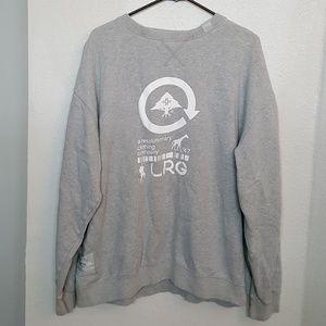 LRG Crewneck Sweatshirt. AMAZING Graphics! Perfect